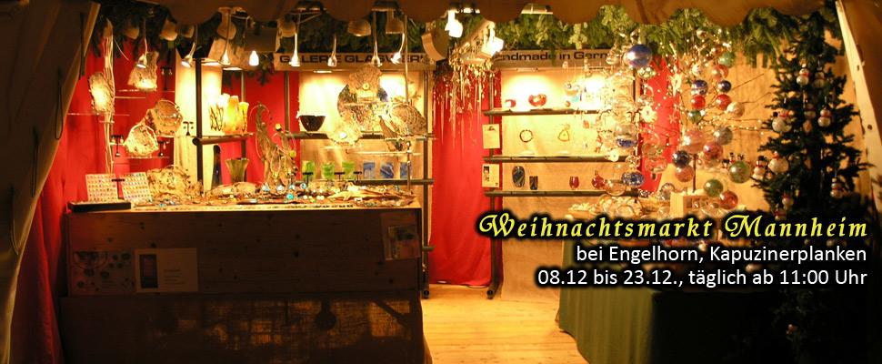 Glasschmuck und Glaskunst in Mannheim